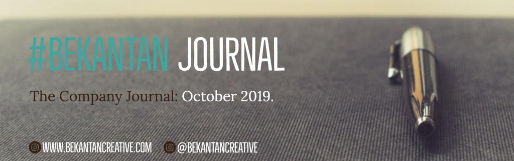 bekantan creative company journal october