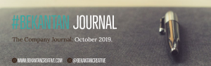 #BEKANTANJOURNAL as of October 2019