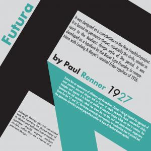 history of font futura paul renner bekantan creative bekantan tales design typography brand