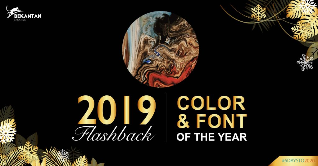2019 flashback color and font of the year bekantan creative