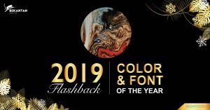 Flashback 2019: Color & Font of The Year