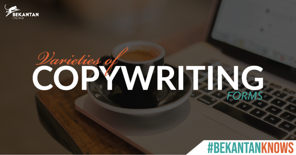 varieties of copywriting forms bekantan knows bekantan creative agency jakarta